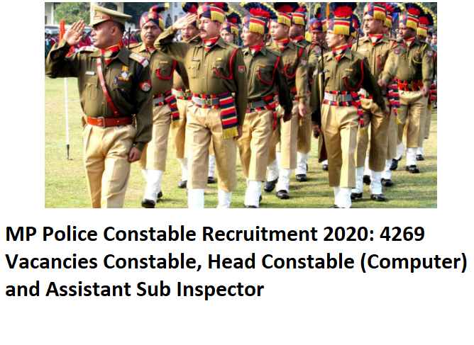 MP Police Constable Recruitment 2020,MP Police, Constable post in MP recruitment drive 2020, Notification update of MP Police recruitment drive 2020