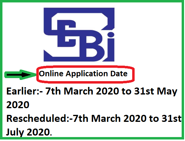 "SEBI Recruitment Drive 2020:- 147 vacancies Grade ""A"" (Assistant Manager) for General Stream, Engineering Stream, Legal Stream, Information Technology Stream, Research Stream, and Official Language Stream,SEBI Recruitment Drive 2020"