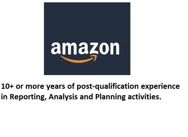 Amazon is looking for a Tax Audit Analyst II